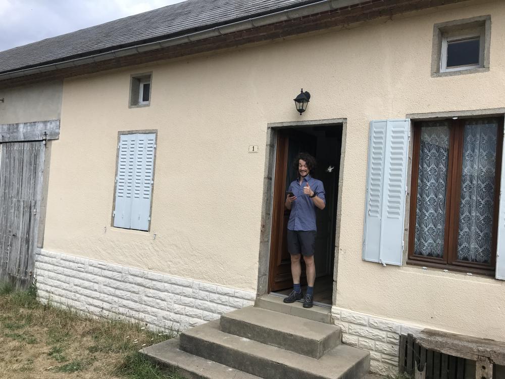 Huizenruil: Vrijstaand huis in La Crouzille